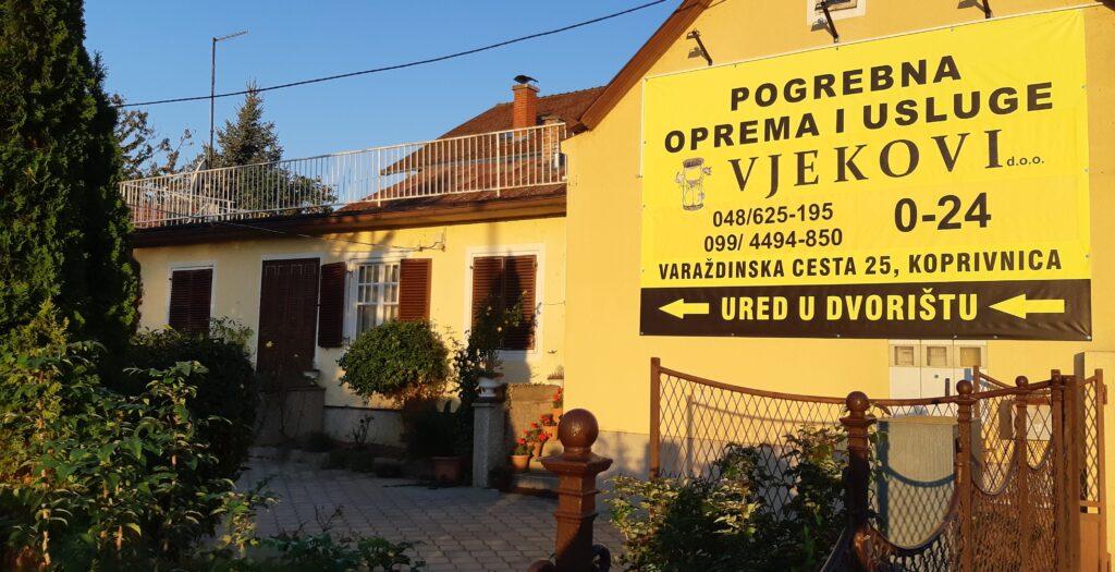 pogrebna oprema i usluge sjedište